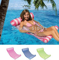 Wholesale 2015 hot Outdoor water hammock floating sleeping bed swimming bed relax water floating bed floating chair
