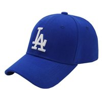 Wholesale Baseball Caps LA Dodgers Outdoors Snapback Curved Brim Bones Sombrero Hip Hop Hats Chapeu Unisex Caps