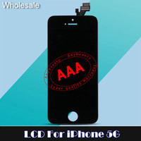 LCD Displays Apple iPhone 5 5C 5S cell phone display - LCD Displays For iphone G c s LCD Screen Repair LCD touch Screen For Cell Phones Accessories Touch Screen Digitizer for free dhl