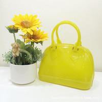 Wholesale 10 Colors Candy Handbag Shell Bag Small Children s Kids bag Mini Handbags Designer Handbag Jelly Bag for Girls Kids Bags p HOT5
