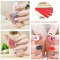 Wholesale New DIY Nail Stickers post watermark environmental nails all henna paste nail stickers nail stick Nail Wraps Styles Freeshipping DHL