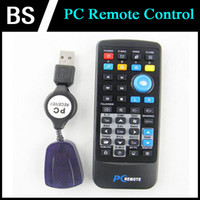 Wholesale Universal USB PC IR Remote Control for PC Laptop Computer XP Vista Win7 AC02 with the retail package