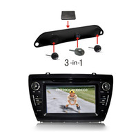Wholesale 3 in Camera Control Box Parking Sensor Car Reverse Backup Radar System License Plate Video Vehicle Parking Assistance