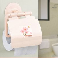 Wholesale Wall mounted type Toilet tissue box Paper holders waterproof papler towel rack Bathroom glass shelf