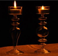 art glass candlesticks - New Design for Home and Wedding Decorative Votive Candle Holder with Size Dia cm x H15 cm