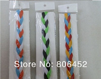 baseball accessories rope - Brand New Twisted Ropes headbands Woman Girl Baseball sports braided with Mix Colors and Size