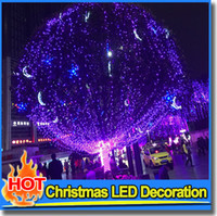 halloween decorations - Fashion Winter Decorative White Christmas Wedding Party Decoration Twinkle String LED Xmas Lights Garden Outdoor Multi Color