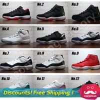 retro 11 bred - Bred Legend Blue Retro basketball shoes Gamma XI Sneakers North Carolina blue basketball shoes Discount Sports shoes