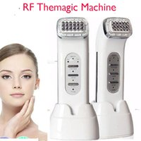 Wholesale Facial Body Beauty Skin Care High Frequency Microcurrent RF Thermage Face Lift Tightening Machine