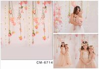 Wholesale 5X7ft New Props Studio Backgrounds For Baby Photos Muslin Computer Printed Digital Cloth Photography Backdrop Background