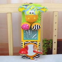 Cheap 2014 New Arrival Brand Photo Frame Lathe Hang Baby Toy Educational Toys Rattles Car Bed Hanging Photo Rattles Baby Deer