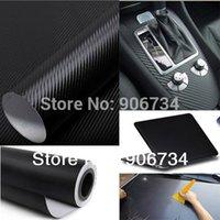 auto detailing tips - Cool Fashon DIY Carbon Fiber Wrap Roll Sticker For Car Auto Vehicle Detailing CMx30CM order lt no track