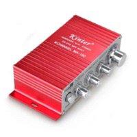 Wholesale Hifi CH Mini amplifier FOR ipod MP3 Car Boat Powerful audio amp w amplifier car