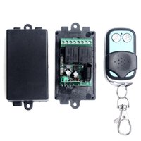 Wholesale DC V CH Channel Wireless RF Transmitter Receiver Remote Control Switch Transmitter Receiver