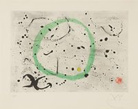 art fond - Fond marin I Painting by Joan Miro Art Reproduction High quality Hand painted