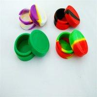 Wholesale 55 Mm Round Non stick Silicone Concentrate Container Silicone Non Stick Ml Wax