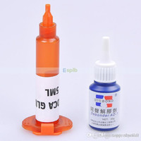 Wholesale Mini ML LOCA Liquid Optical Clear Adhesive UV Glue g Glue Remover For Repair LCD Touch Screen A5
