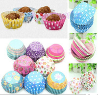 Wholesale Original Mini Round Cake Paper Holds Greaseproof Baking Cupcake Cases AF149