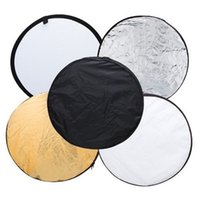 Wholesale S5Q cm Circular Reflector in Collapsible Reflector Photography Accessories AAAERN