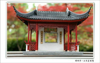 ancient china architecture - Educational Toys DIY a pavilion a kiosk D Wooden Puzzle China Ancient architecture model