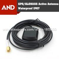 gps active antenna - GPS GlONASS Active Waterproof Antenna EXternal Antenna IP67 Rated