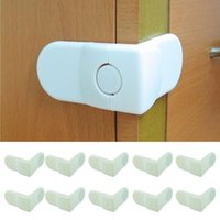 Wholesale Essential white Baby Drawer Safety Lock For Door Cabinet Refrigerator Window Baby safe products baby care