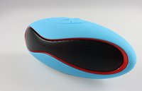 mini football - Mini Portable Bluetooth Speaker x6 Rugby Football Wireless Stereo Mp3 Player Support TF Card Reader Many Colors Available