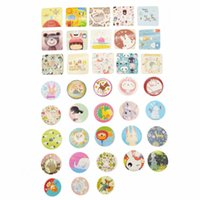Wholesale pieces cute animal letter Christmas pattern adhesive sticker DIY album diary stationery envelope seal sticker