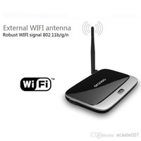 Wholesale New Android TV Box Q7 CS918 Full HD P RK3188T Quad Core Media Player GB GB XBMC Wifi Antenna with Remote Control V763