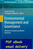 advance marine - Environmental Management and Governance Advances in Coastal and Marine Resources Coastal Research Library