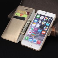 Cheap For Apple iPhone Cow leather Best Leather Black iphone 6 4.7 Plus