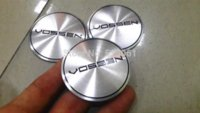 car wheel hub cap - mm VOSSEN car emblem Wheel Center Hub Caps Wheel Dust proof emblem covers Auto accessories M22736