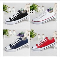 Wholesale women and men shoes canvas all New Brand Unisex Men Women High Style Canvas Shoes Clasic Casual Sneakers for women Board star Shoes all