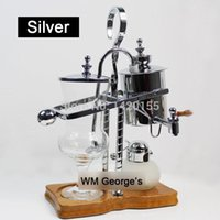 Wholesale Royal belgium balancing siphon coffee maker Gold coffee maker machine ml Vacuum Syphon Coffee Maker A3