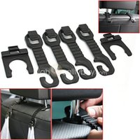 Wholesale 4x Car Seat Shopping Bags Hook with Bottle Hanger for Vehicle Truck Useful