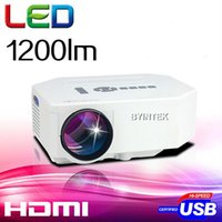 lcd projector hd - Hot Sell Mini UC30 Home Theater LCD LED Portable Pocket Projector Lumens Support P HD HDMI USB