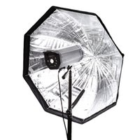 Wholesale 80cm quot Portable Octagon Umbrella Softbox Brolly Reflector For Studio Strobe Speedlite Flash