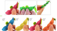 big green beans - hot Soya Bean Pop Up Keyring Keychain Stress Relief Toy Green Lucky EDAMAME Keychain Bean Pea key ring