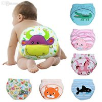 Wholesale Baby Diapers or Baby Nappies Cloth Diaper Cloth Nappy Training Pants learning Newborn M baby underwear drop shipping