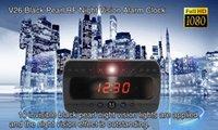 1080P WiFi reloj espía cámara infrarroja de visión nocturna cámara oculta reloj digital reloj de mesa grabadora mini DVR
