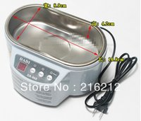 Wholesale Jewelry Cleaner DADI DA V or V Stainless Steel Dual W W Ultrasonic Cleaner