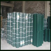 Wholesale Green PVC Coated Wire Fencing Welded Mesh With Height m Length Applied To Farm Feeding