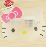 Wholesale Hello Kitty thin soft board cut fruit plate eat mat