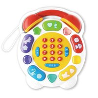 Wholesale US Baylor interactive children s toys early childhood music phone multifunctional baby baby storytelling