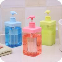 bathroom pressure pump - 2pcs Kitchen ml PP hand sanitizer bottle Bathroom supplie Gel Shampoo Latex bottle Pump head pressure mouth Plastic lotion Soap Dispenser