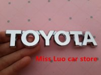 Wholesale TOYOTA logo D Car Stickers Emblem Badge rear Decals for Toyota camry sticker decal shop
