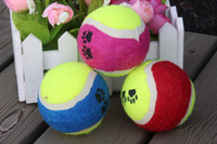 Wholesale Dog tennis ball toss throw no stretch cm dog Toys Dog Supplies