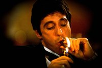 al packaging - Scarface Al Pacino With Cigar Classic Crime Movie Art Silk Poster x36inch