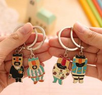 antique men clothing - NEW Hot Cartoon movie Key Chain Vintage fairy tale The Emperor s New Clothes Alloy keychain wedding favors keychan cc41