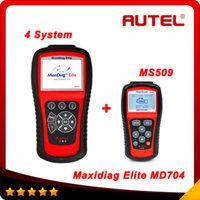 autel diagnose - Autel Maxidiag Elite MD704 With DS Model Diagnose For System Update Online MS509 as gift DHL